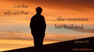 Reverence Her Husband