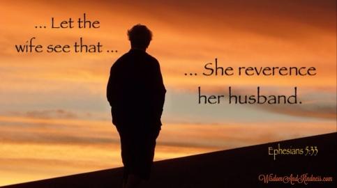Reverence Her Husband