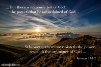Authority is of God
