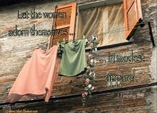 Modest apparel